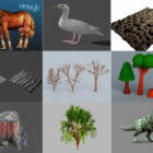 10 Blender Nature 3D Models – Day 2020.10.14