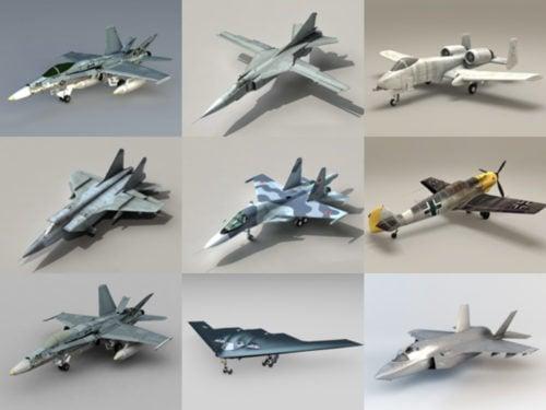 10 modelos 3D gratuitos de aviones de combate - Semana 2020-41