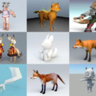 10 Fox 3D Models Collection – Week 2020-44
