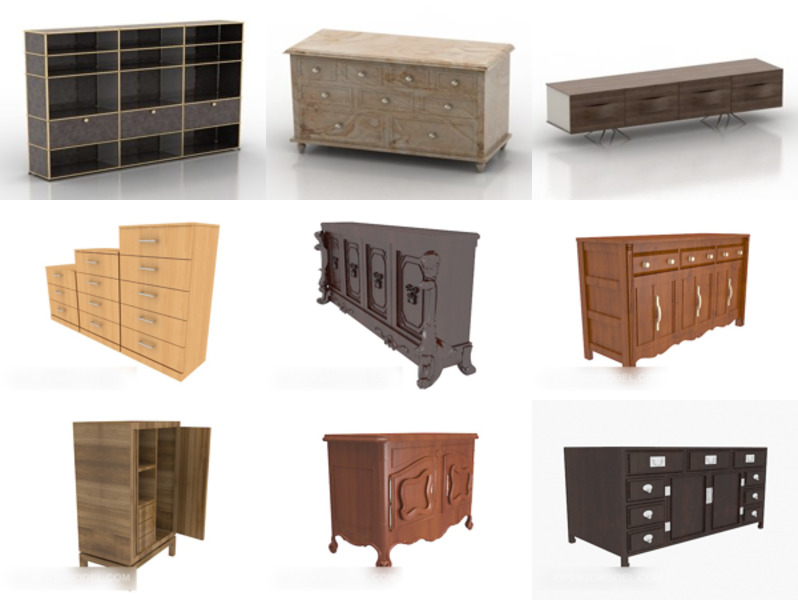 10 Furniture Locker Free 3D Models – Week 2020-42