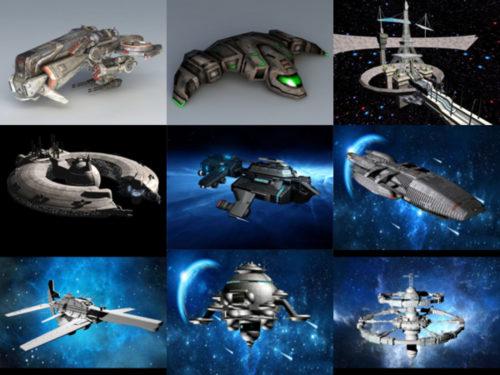 10 ilmaista ilma-aluksen futuristista 3D-mallia - viikko 2020-41