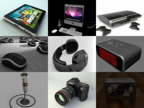 10 Gadget ilmaiseksi OBJ 3D-mallit - viikko 2020-40