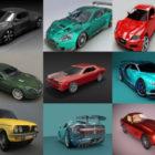 10 coches de alta calidad gratis Blender Modelos 3D - Semana 2020-40
