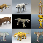 10 Leopard 3D Models Collection – Week 2020-44