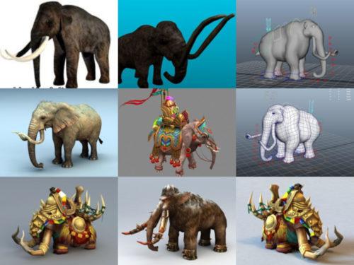 10 Mammoth 3D -mallia ilmainen lataus