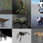 10 Maya Land Animals 3D Models – Day 15 Oct 2020