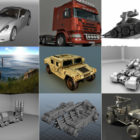 10 Maya Vehicle 3D Models – Day 14 Oct 2020