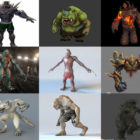 10 Monster 3D Models Character – Week 2020-44