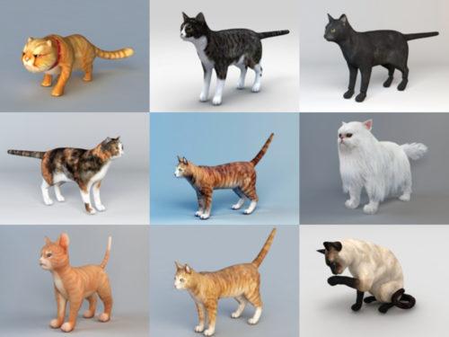10 نماذج مجانية ثلاثية الأبعاد واقعية من Cat - الأسبوع 3-2020