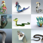 10 Snake 3D Models Collection – Week 2020-44