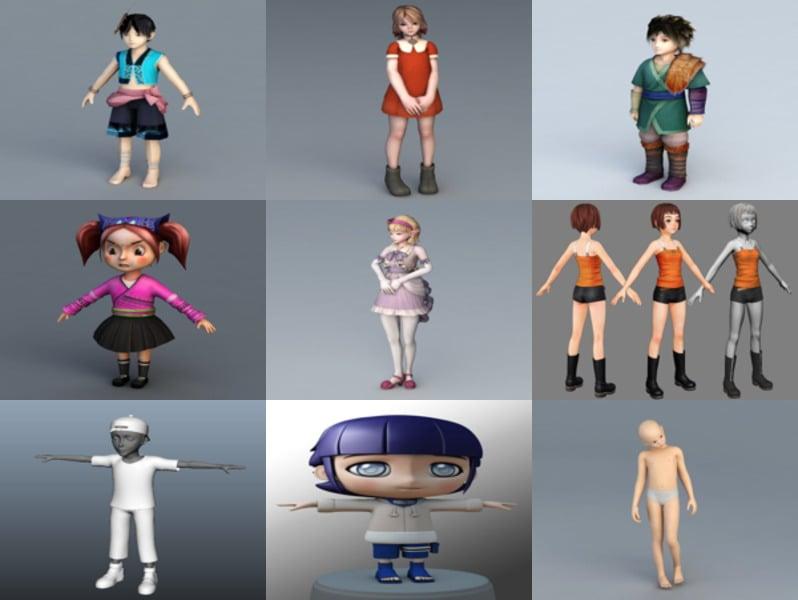 10 modelos 3D sin personajes para adolescentes - Semana 2020-43