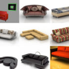 12 3ds Max Sofa 3D Models – Day 15 Oct 2020