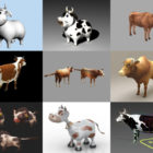 12 Cow 3D Models Animal – Week 2020-44