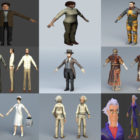 12 Doctor Free 3D Models Character – Week 2020-44