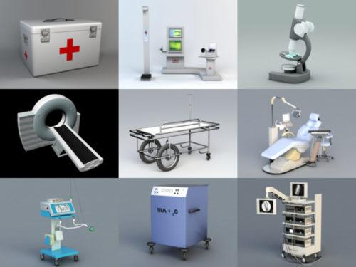 12 modelos 3D gratuitos de equipamiento hospitalario - Semana 2020-41