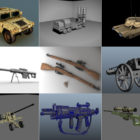 12 Maya Military 3D Models – Day 15 Oct 2020