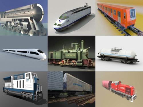 12 Ajoneuvojuna ilmaiseksi OBJ 3D-mallit - viikko 2020-41