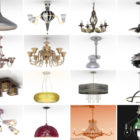 20 3ds Max Chandelier 3D Models – Day 16 Oct 2020