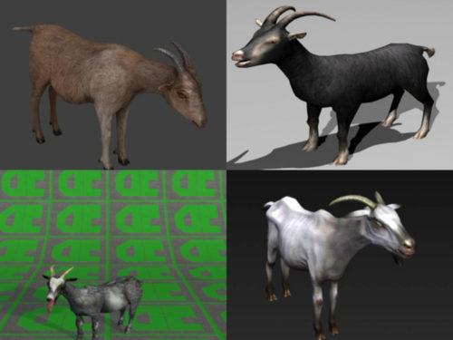 6 Mountain Goat 3D -mallia Ilmainen lataus