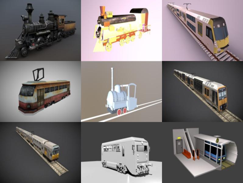 9 Blendتدريب مجموعة نماذج ثلاثية الأبعاد مجانية