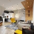 Scandinavian Interior Scene Living Room