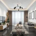 Apartment Interior Scene Living Room Space