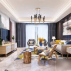 Nordic Interior Scene Apartment Living Room