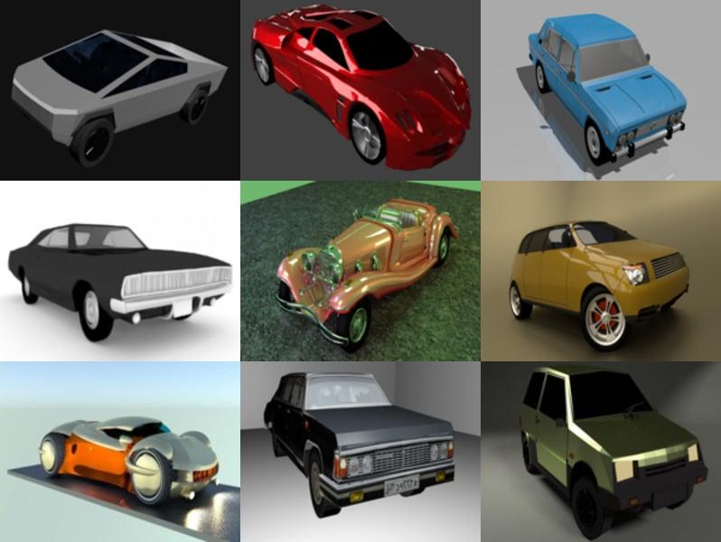 Top 10 Blender Modelos 3D sin coches - Semana 2020-43