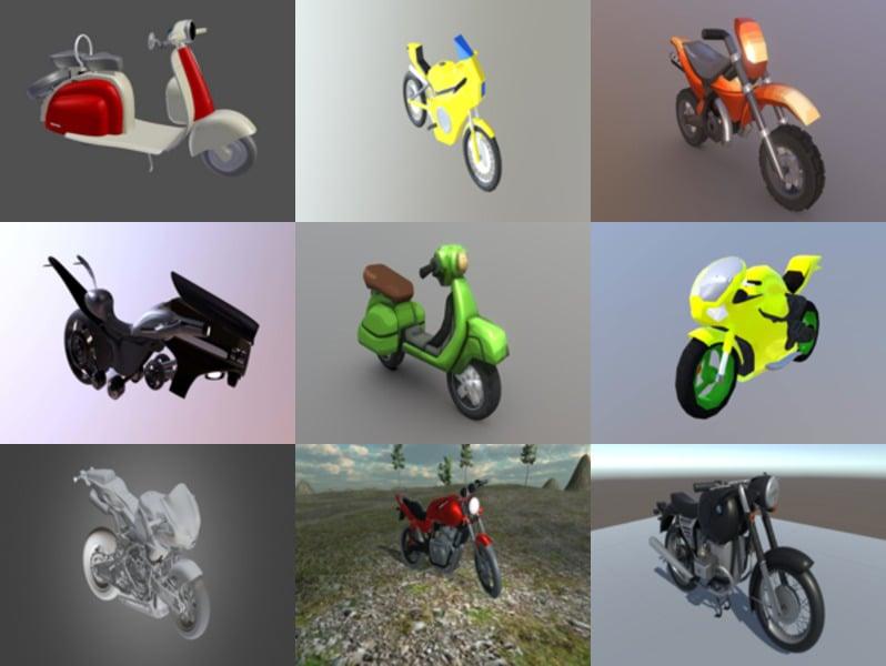 Top 10 BlendModelos 3D de motocicletas er - Semana 2020-43