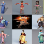 Top 10 Chinese 3D Models Character – Week 2020-44