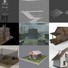Top 10 Fbx Architecture 3D Models – Day 25 Oct 2020