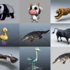 Top 10 Fbx Rigged Animal 3D Models – Day 25 Oct 2020