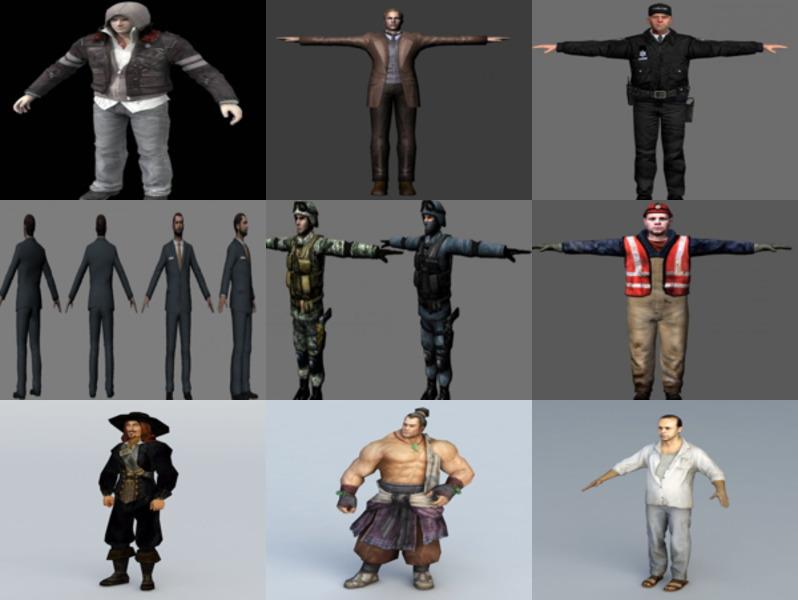 Los 10 mejores modelos 3D sin personajes masculinos - Semana 2020-43