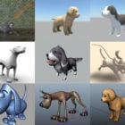 Top 10 Maya Dog 3D Models – Day 23 Oct 2020