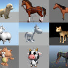 Top 10 Maya Farm Animals 3D Models – Day 23 Oct 2020