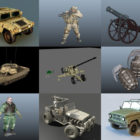 Top 10 Maya Military 3D Models – Day 23 Oct 2020