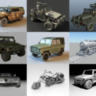 Top 10 Maya Transport 3D Models – Day 23 Oct 2020