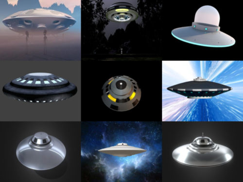 Top 10 UFO Free 3D Models – Week 2020-41