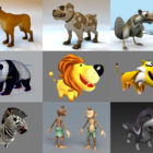 Top 12 Fbx Cartoon Animal 3D Models – Day 25 Oct 2020