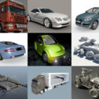 Top 12 Maya Vehicle 3D Models – Day 23 Oct 2020