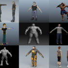 Top 9 Maya Male 3D Models – Day 23 Oct 2020