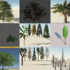 12 Tree Pack Free 3D Models Collection – Week 2020-46