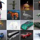 Top 30 Blender Free 3D Models 2020: Character, Animal, Car, Aircraft, Smartphone