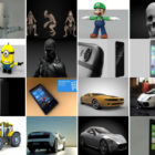 Top 30 Cinema 4D Free 3D Models 12/2020:  Character, Gadget, Phone, Car
