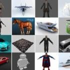 상위 20 개 파일 Blender 무료 3D 모델 2021 컬렉션