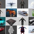 Top 20-Dateien Blender Kostenlose 3D-Modelle 2021 Collection