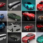 Top 20 High Quality Blender Car Free 3D Models: Bugatti, Aston Martin, Bmw, Audi, Jeep, Aston Martin, Ford Mustang, Audi R8…