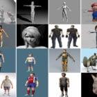 20 mest sett Maya Karakterfrie 3D-modeller 2021: Kvinne, Mann, Anime, Tegneserie, Tenåring, Gutt ...