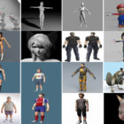 20 Most Viewed Maya Character Free 3D Models 2021: Female, Male, Anime, Cartoon, Teenage, Boy…