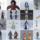 20 Male Anime Character 3D Models: Swordsman, Cool Boy, Vampire, Takato Matsuki, Boy Chibi, Anime Pirate, Shaolin Monk,…